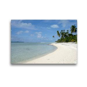 Premium Textil-Leinwand 45 cm x 30 cm quer Cookinseln