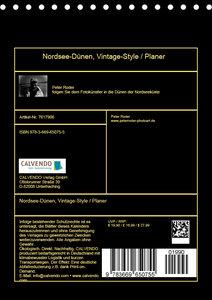 Nordsee-Dünen, Vintage-Style / Planer (Tischkalender 2019 DIN A5