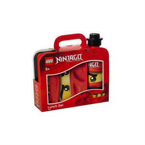 LGO Ninjago Lunch Set, rot