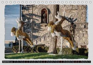 Impressionen - von und rund um San Marino (Tischkalender 2020 DI