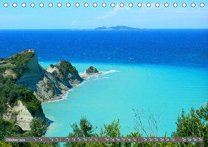 Korfu, Perle im Ionischen Meer (Tischkalender 2019 DIN A5 quer)