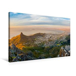 Premium Textil-Leinwand 75 cm x 50 cm quer Ein Motiv aus dem Kal