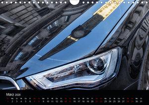 Spiegelwelten im Autolack (Wandkalender 2020 DIN A4 quer)