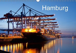 Hamburg / UK-Version (Wall Calendar 2015 DIN A3 Landscape)