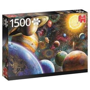 Planeten im Weltall - 1500 Teile Puzzle