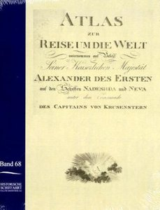 Atlas zur Reise um die Welt von Ivan Krusenstern in den Jahren 1