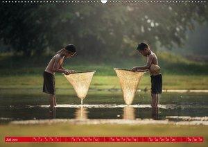 Magisches Asien. Menschen und Natur (Wandkalender 2019 DIN A2 qu