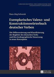 Exemplarisches Valenz- und Konstruktionswörterbuch deutscher Ver