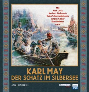 Der Schatz im Silbersee. 4 CDs