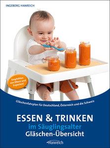 Essen und Trinken im Säuglingsalter - Gläschenübersicht