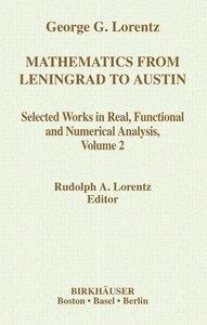 Mathematics from Leningrad to Austin, Volume 2
