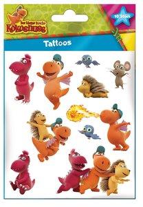 Der kleine Drache Kokosnuss - Tattoos