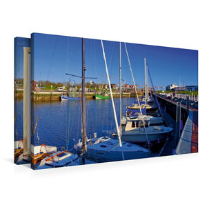 Premium Textil-Leinwand 90 cm x 60 cm quer Bensersiel
