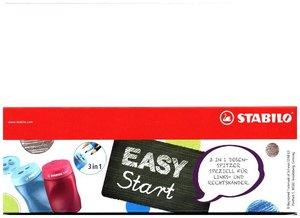 STABILO EASYsharpener für Linkshänder und Rechtshänder Dosenspit