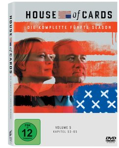 House of Cards. Staffel.5, DVD