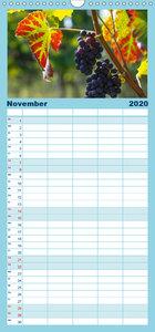Weingenuss - Familienplaner hoch (Wandkalender 2020 , 21 cm x 45