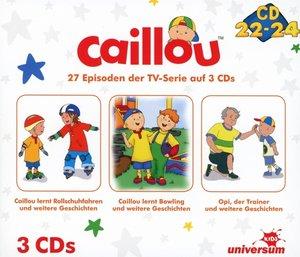 Caillou Hörspielbox 8 (CD 22-24)
