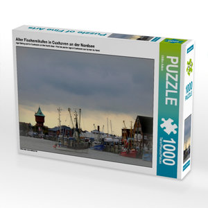 Alter Fischereihafen in Cuxhaven an der Nordsee 1000 Teile Puzzl