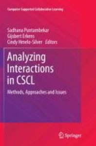 Analyzing Interactions in CSCL