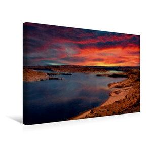 Premium Textil-Leinwand 45 cm x 30 cm quer Lake Powell