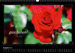 Monat für Monat ein Bibelvers (Wandkalender 2019 DIN A3 quer)
