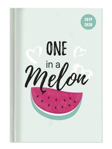 Collegetimer A6 Tag Melon 2019/2020