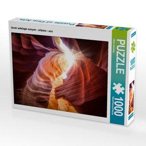 CALVENDO Puzzle lower antelope canyon - arizona - usa 1000 Teile