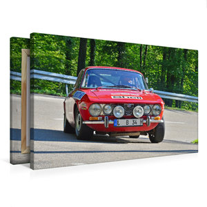 Premium Textil-Leinwand 75 cm x 50 cm quer Alfa Romeo GTV Bj.19