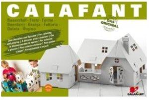 Calafant D2511X - Bauernhof groß, Bastelset, LEVEL 3, 61,5 x 50