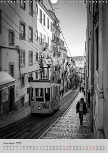 Lisbon in Black and White