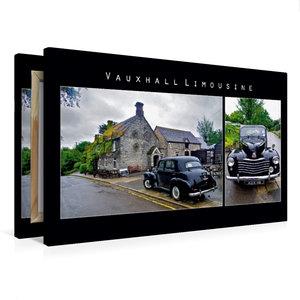 Premium Textil-Leinwand 75 cm x 50 cm quer Vauxhall Limousine, E