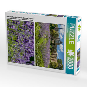 Nymans Garden in West Sussex, England 2000 Teile Puzzle hoch