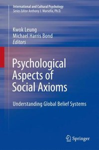 Psychological Aspects of Social Axioms