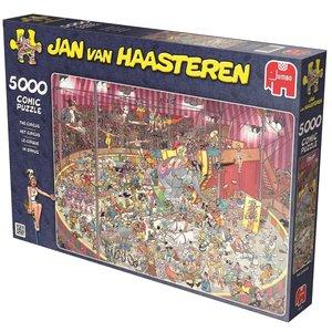 Jan van Haasteren - Im Zirkus. Puzzle 5000 Teile