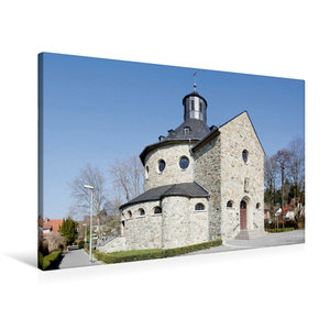 Premium Textil-Leinwand 90 cm x 60 cm quer Sankt Martinskirche H