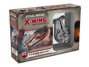 Asmodee FFGD4001 - Star Wars X-Wing, YT-2400 Frachter, Erweiteru