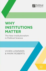Why Institutions Matter