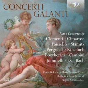 Concerti Galanti,-Piano Concertos