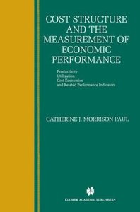 Cost Structure and the Measurement of Economic Performance