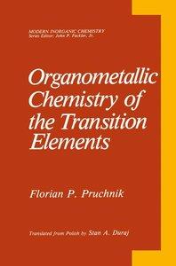 Organometallic Chemistry of the Transition Elements