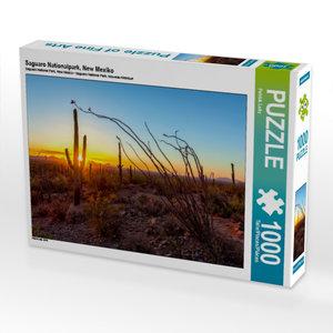 Saguaro Nationalpark, New Mexiko 1000 Teile Puzzle quer