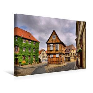 Premium Textil-Leinwand 45 cm x 30 cm quer Quedlinburg