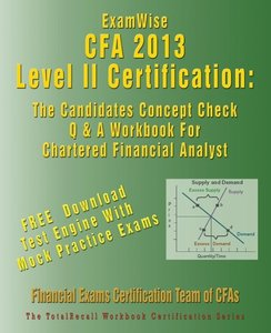 Examwise for the Cfa (R) Level II Certification: The Candidates