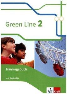 Green Line 2. Trainingsbuch mit Audio-CD 6. Klasse