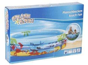 Splash & Fun Planschbecken Beach Fun 120cm