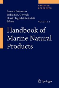 Handbook of Marine Natural Products. 2 Bände