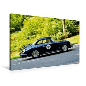 Premium Textil-Leinwand 75 cm x 50 cm quer Porsche 356 Karmann H