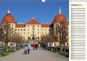 Unterwegs im schönen Sachsen (Wandkalender 2019 DIN A3 quer)