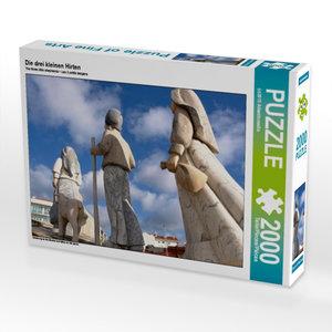 Die drei kleinen Hirten 2000 Teile Puzzle quer