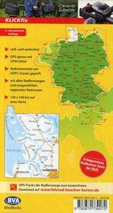 ADFC-Radtourenkarte 1 Nordfriesland /Schleswig 1:150.000, reiß-